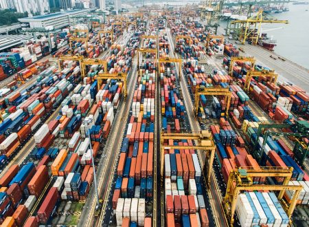 Prodotti importati ed esportati in Italia per tipologia (2015-2019)