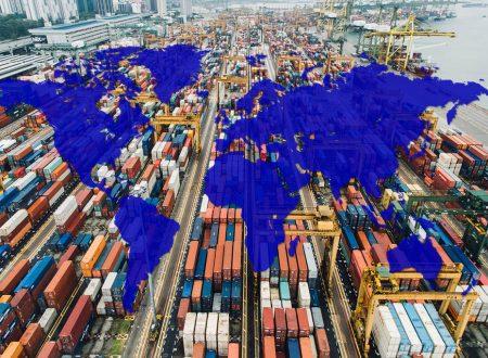 Esportazioni e importazioni di merci in Italia per paese (2015-2019)